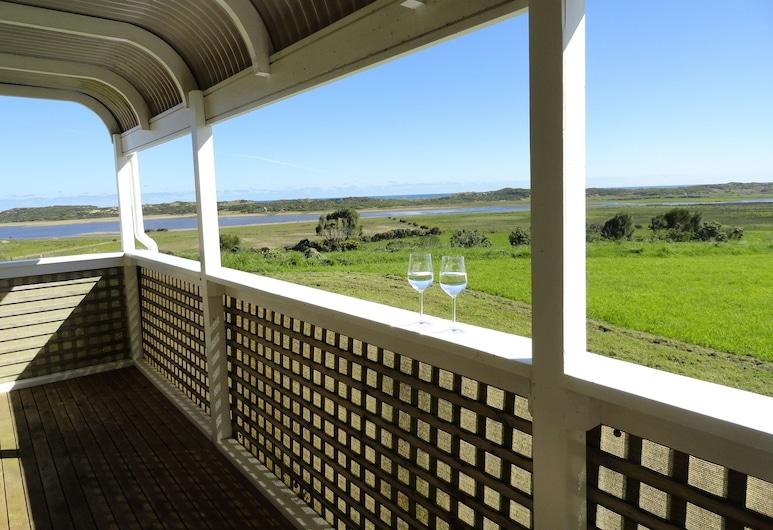 High View Family Cottages, Illowa, Casa de campo básica, 2 habitaciones, vista al mar, Balcón