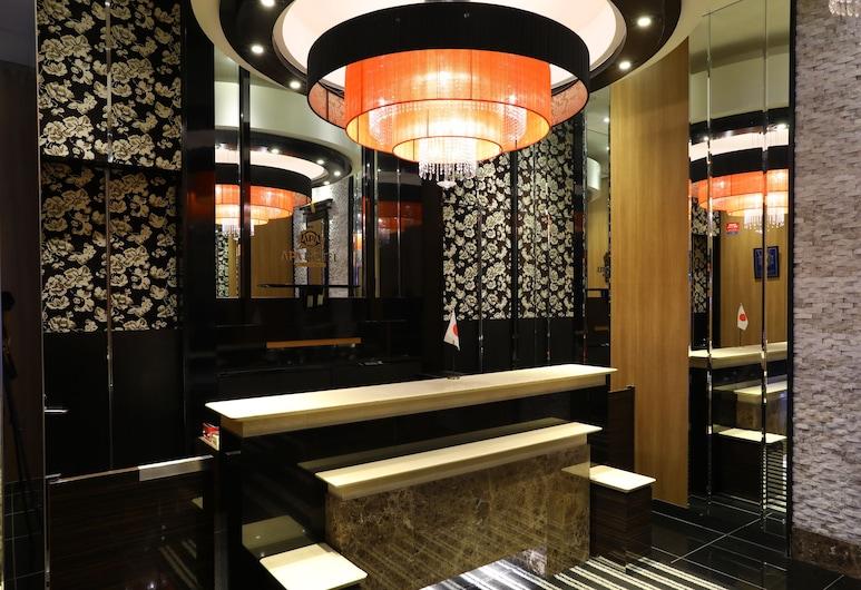 APA Hotel Ueno Ekikita, Tokyo, Reception