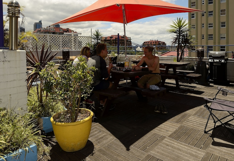 Sydney Central Backpackers, Potts Point, Terraza o patio
