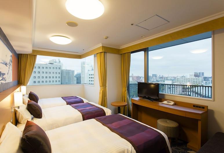 Ryogoku View Hotel, Tokyo, Triple Room, Smoking, Guest Room
