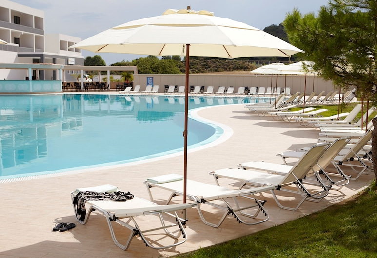 Evita Resort - All Inclusive, Rhodes, Geladak matahari