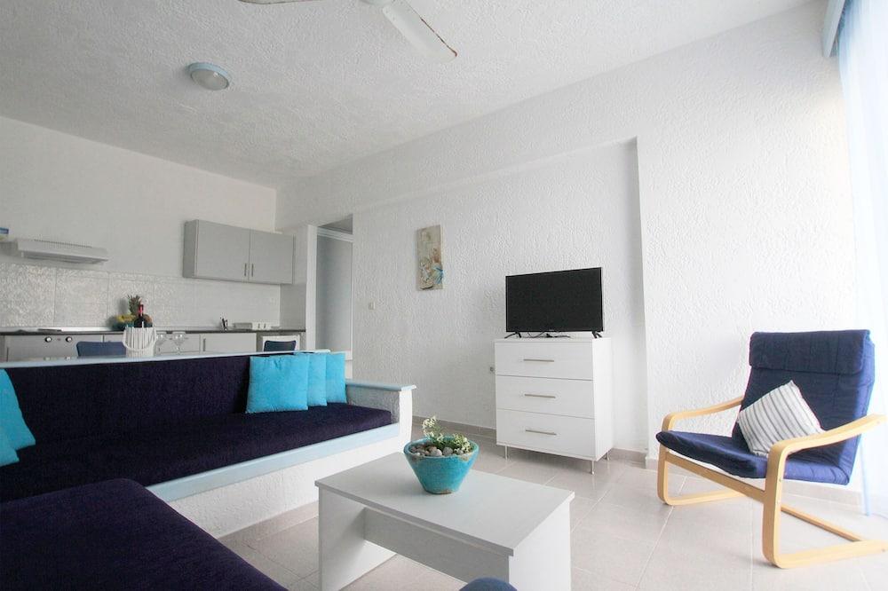 Departamento, 1 habitación, planta baja - Sala de estar