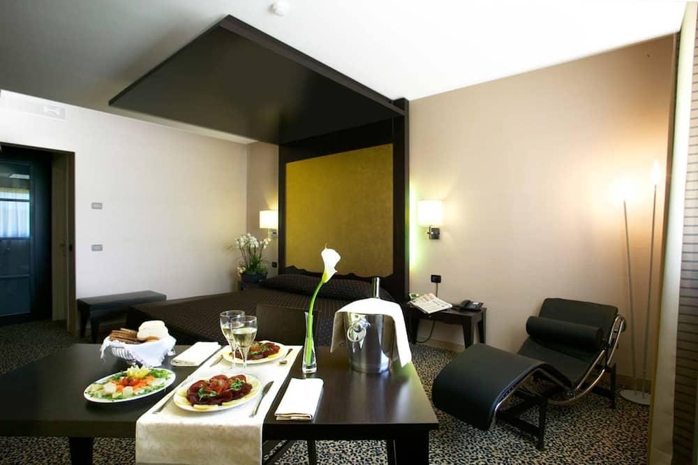 Suite - Restauration dans la chambre