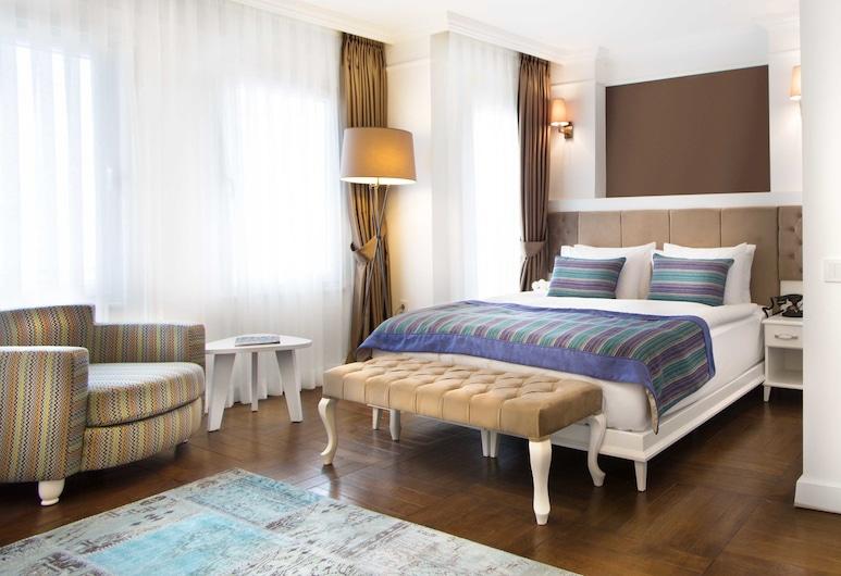Astan Hotel Taksim, Istanbul, Suite Deluxe, Vista dalla camera
