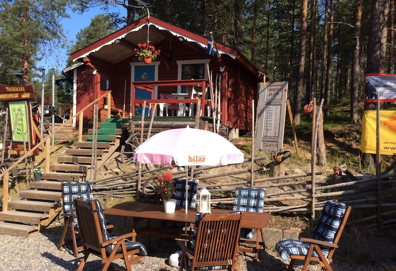 Tallbacken Camping, Vannas, Cabaña, baño compartido (2 persons), Restaurante al aire libre