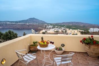 Fotografia do Villa Galinia em Santorini