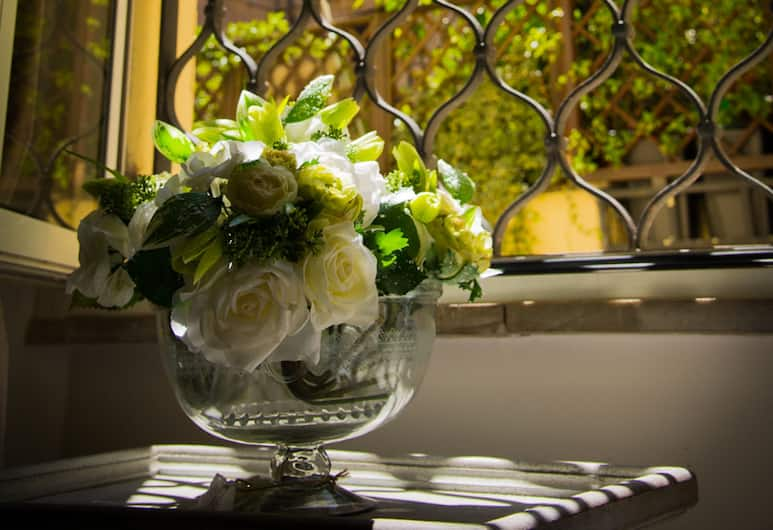 GuestLovers, Roma, Camera Economy con letto matrimoniale o 2 letti singoli, Edificio separato (Specchi), Vista dalla camera