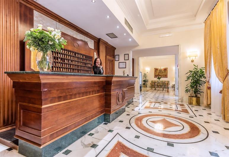 雷利諾托酒店, 羅馬, 櫃台
