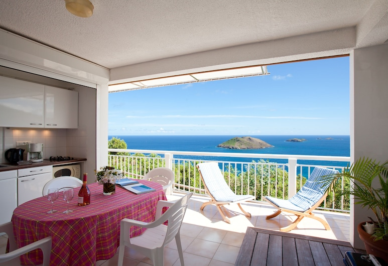 Le P'tit Morne, St. Barthelemy, Standard Room, Ocean View, Living Area