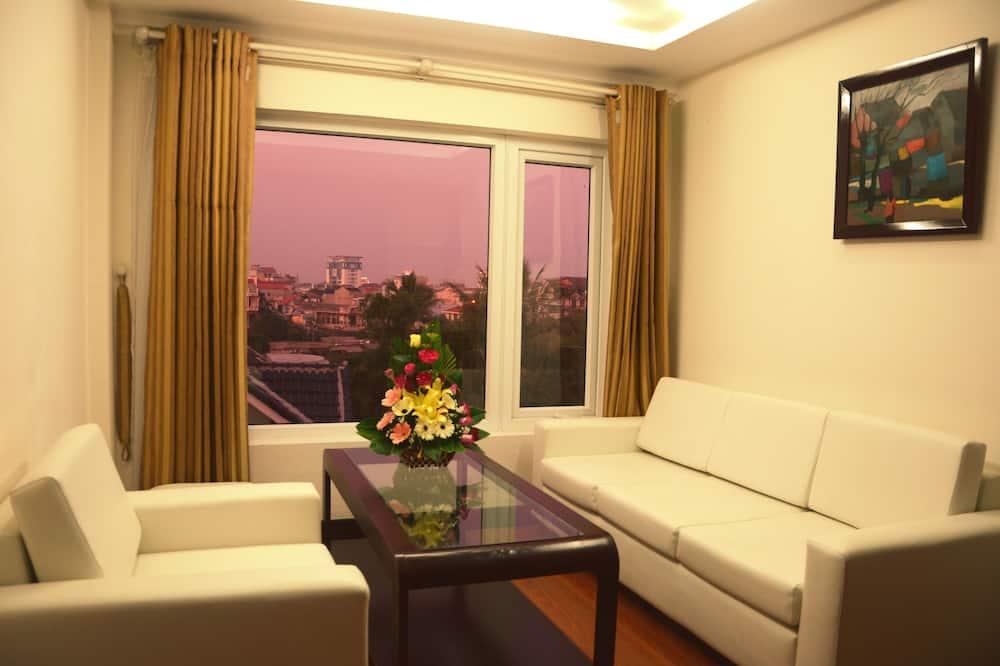 極品雙人房, 1 張加大雙人床 - 客廳