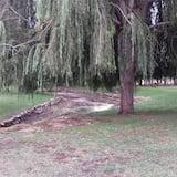 Blick auf den Park