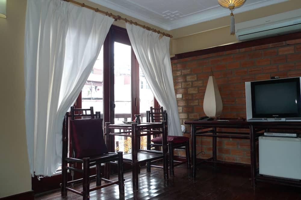 Deluxe-Doppel- oder -Zweibettzimmer, Stadtblick, Seeseite - Zimmer