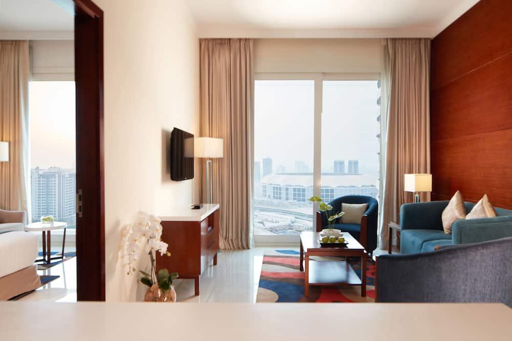 Family Suite, 2 Bedrooms, Balcony - Living Area