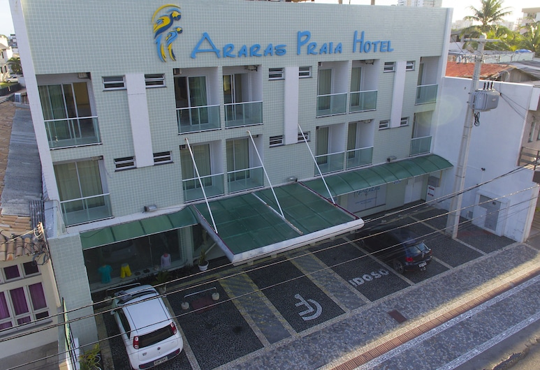 Araras Praia Hotel, Aracaju, Hotel Front