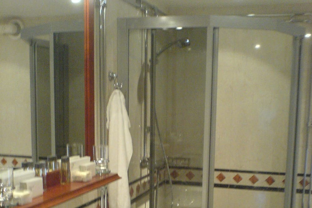 Junior-Suite, Whirlpool - Badezimmer