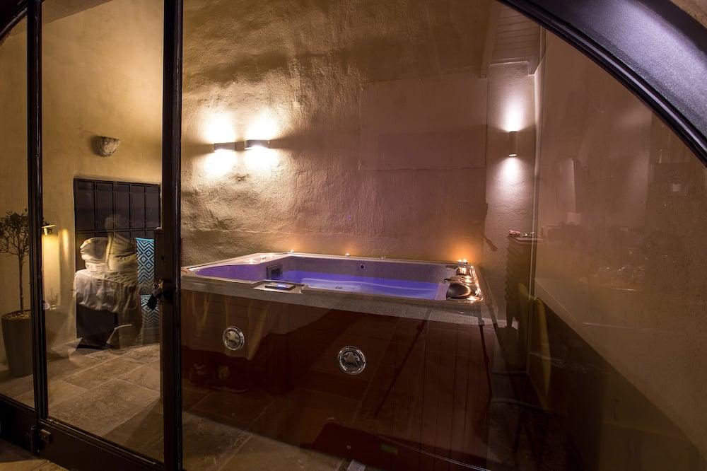 Suite, bañera de hidromasaje (VIP - Andromeda) - Bañera de hidromasaje privada