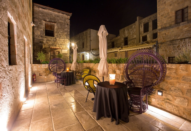 Allegory Boutique Hotel, Rhodes, Hiên