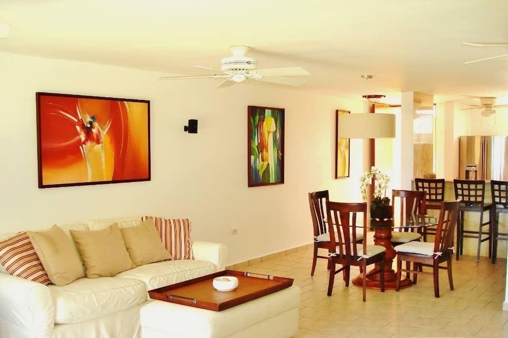 Villa Premium - 4 sovrum - Vardagsrum