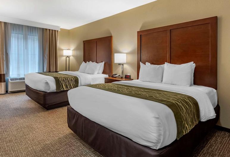 Comfort Inn and Suites, Pittsburgh, Standard Room, 2 Katil Ratu (Queen), Non Smoking, Bilik Tamu