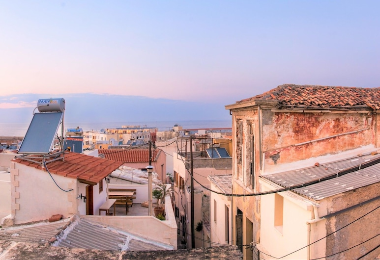 House Minoos, Chania, Traditional House, 2 Bedrooms, Sea View, View from room