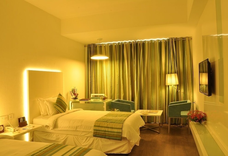 The Arcadia, Coimbatore, Deluxe Double Room, 1 Bedroom, Smoking, City View, Guest Room