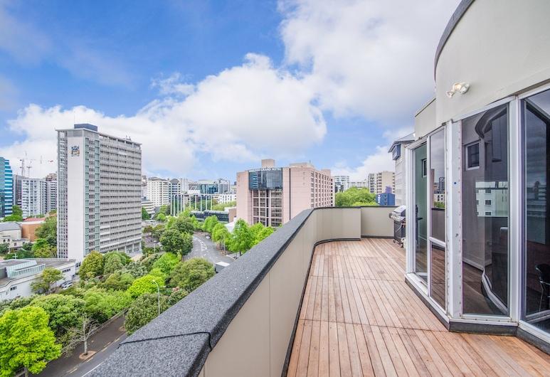 رمادا سويتس أوكلاند، فيدرال ستريت, أوكلاند, شقة - ٣ غرف نوم (Penthouse), شُرفة