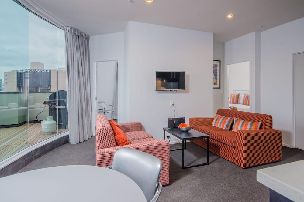 公寓, 3 間臥室 (Penthouse) - 客廳