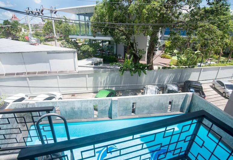 布吉蜂巢奧爾迪敦青年旅館, 布吉, Deluxe Pool View, 室外泳池