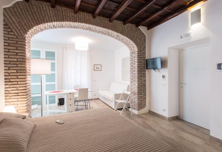 多米尼奇羅豪華公寓, Rome, 公寓, 1 間臥室, 客房