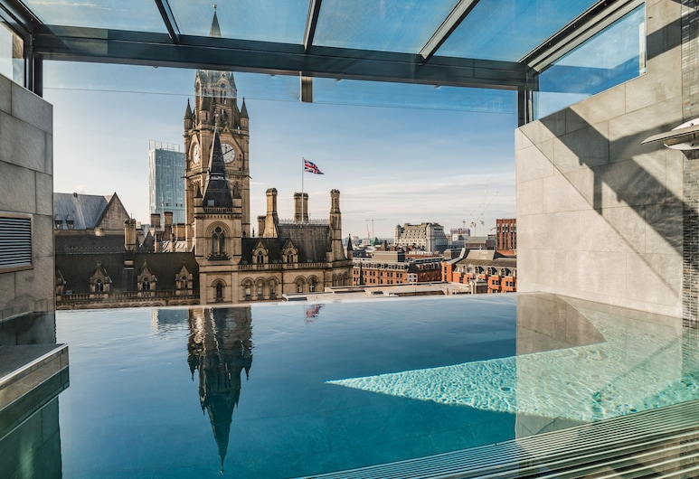 King Street Townhouse, Manchester, Nekonečný bazén