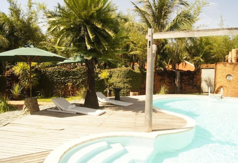 Some Days Of Silence Resort & Spa, Niņhoa, Ģimenes villa, skats uz baseinu, Viesu numura skats