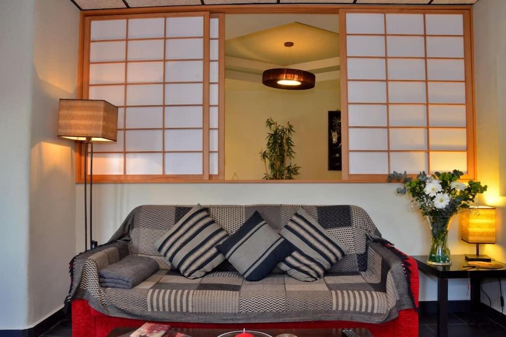 Apartament, 1 sypialnia, wanna z hydromasażem (Adults only ) - Salon
