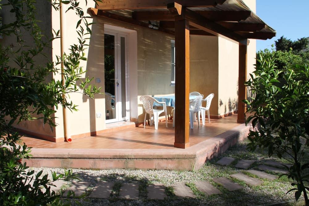 Апартаменти, 1 спальня - Тераса/внутрішній дворик