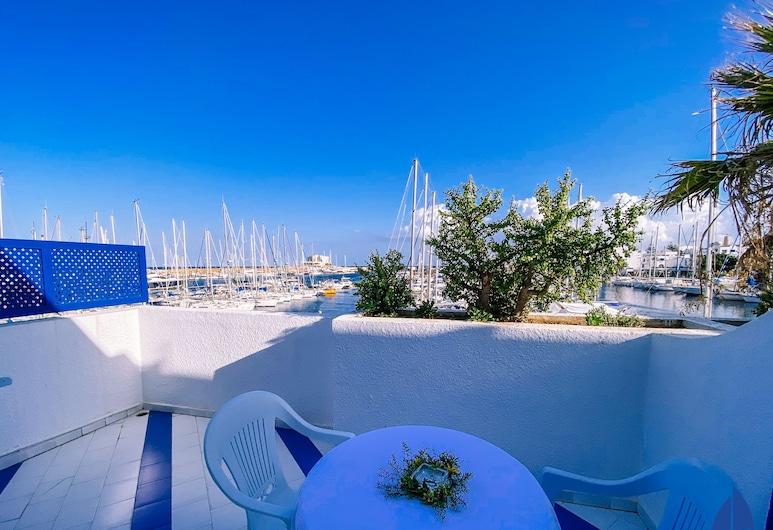 Marina Cap Monastir Appart-hôtel, Monastir, Studio, Terrasse/Patio