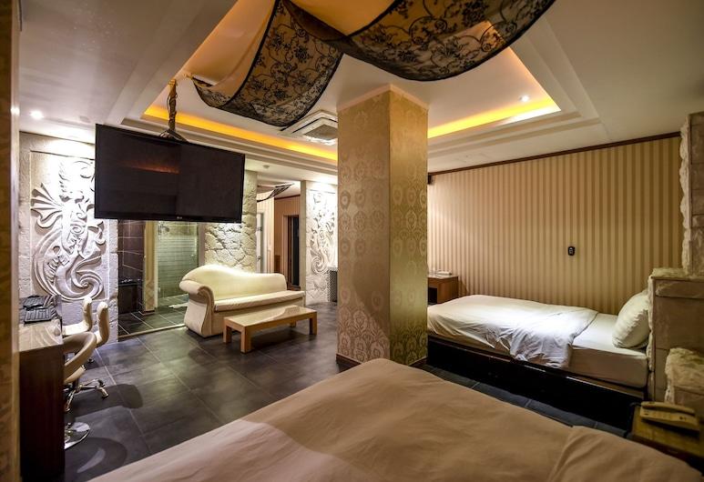 Sunflower Hotel, Incheon, Guest Room