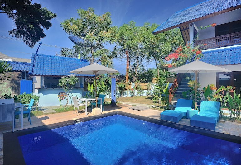 Marygio Resort, Gili Trawangan, Vaade hotellist