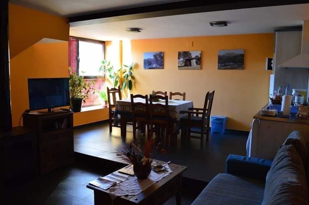 Apartment, 2Schlafzimmer, Bergblick - Wohnbereich