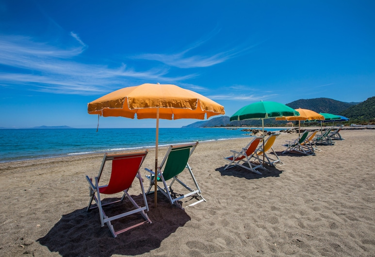 Villaggio Residence Testa di Monaco, Capo d'Orlando, Beach