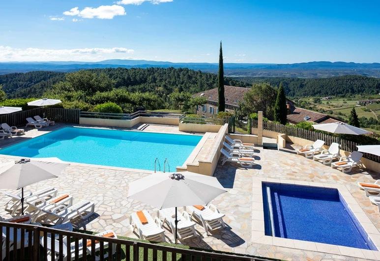 La Bastide de Sanilhac, Sanilhac, View from Hotel