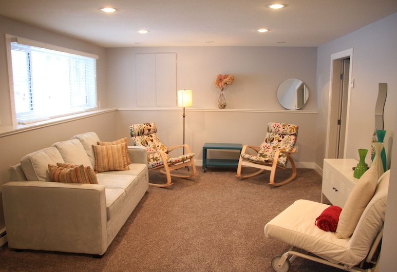 Stoneshire Guesthouse, Clearwater, Suite, 1 Quarto, Cozinha (Obsidian Suite), Área de Estar