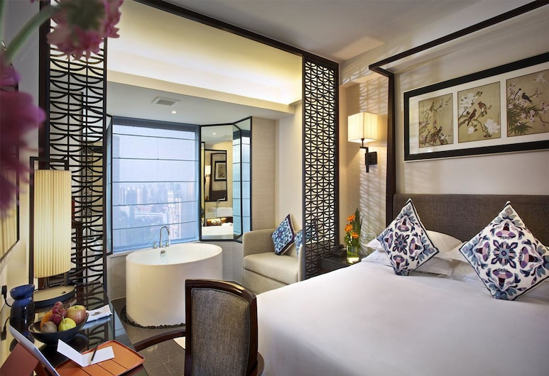 Ssaw Boutique Hotel Shanghai Hongkou, Shanghai, Deluxe Room, 1 Bedroom, Guest Room