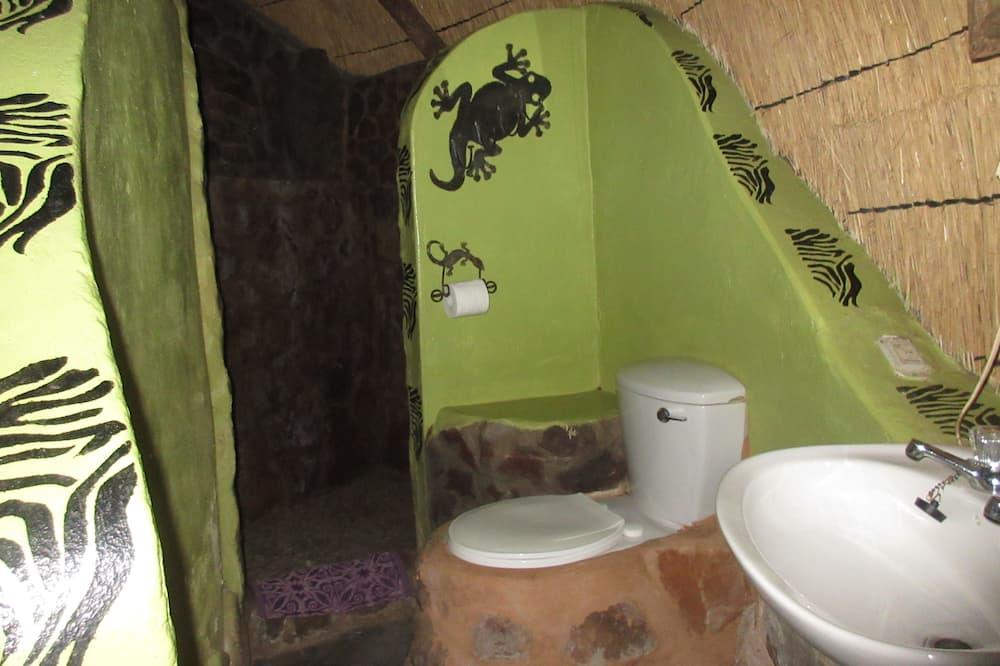Alpehytte - Badeværelse