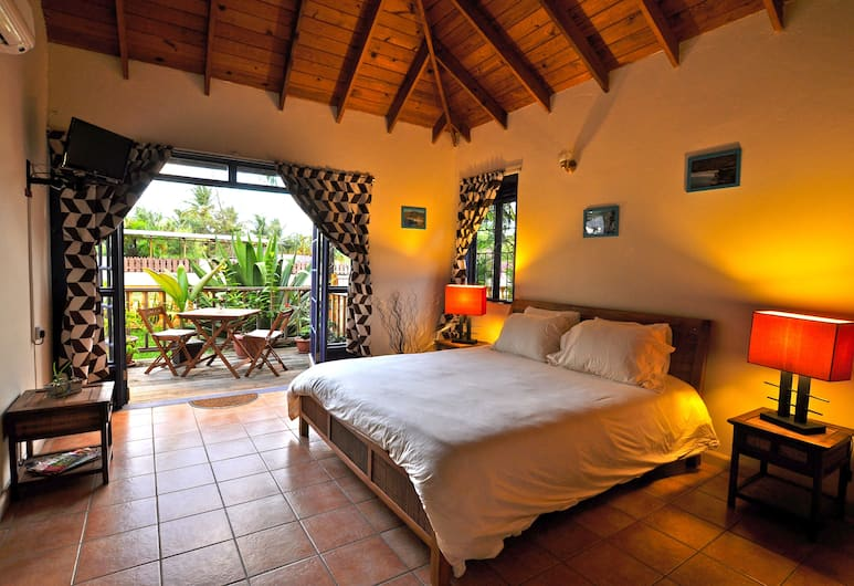 Le Jardin de Rodney, Gros Islet, Superior Room, Multiple Beds, View from room