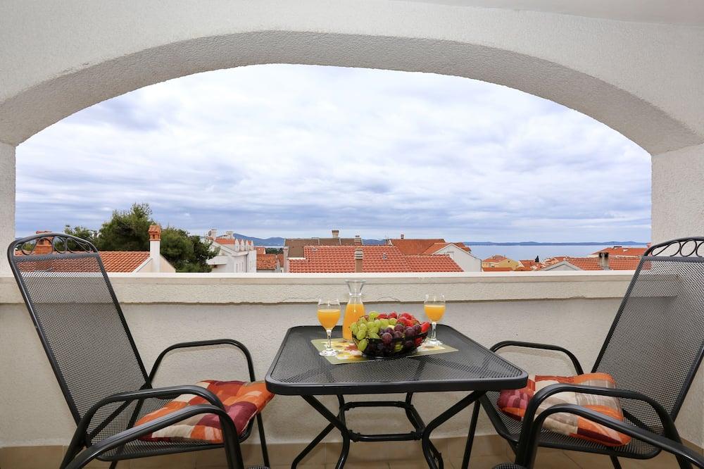 Doppelzimmer, 1 Doppelbett, Meerblick - Terrasse/Patio