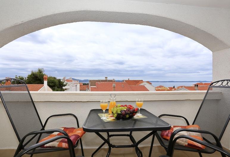 Apartments & Rooms Petra, Zadar, Kahetuba, 1 kahevoodi, vaade merele, Terrass