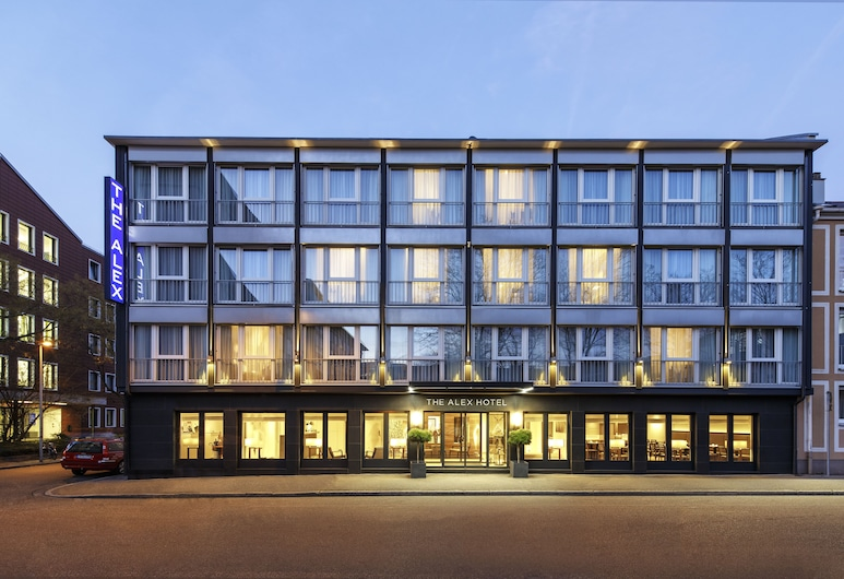 The Alex Hotel, Friburgo de Brisgovia, Fachada del hotel