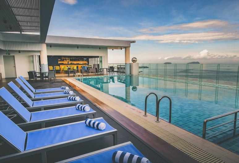柯塔亞庇市中心美居酒店, 亞庇, 無邊際泳池
