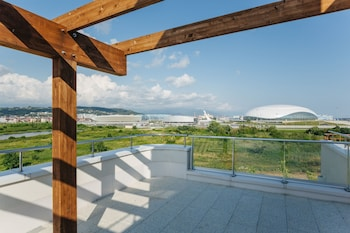Nuotrauka: Apart-hotel Imeretinskiy - Green Acres complex, Adleris