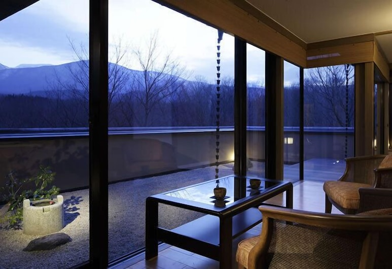 Chikusenso Onsen, Zao, Mt. Zao Suite, Mountain View, Guest Room