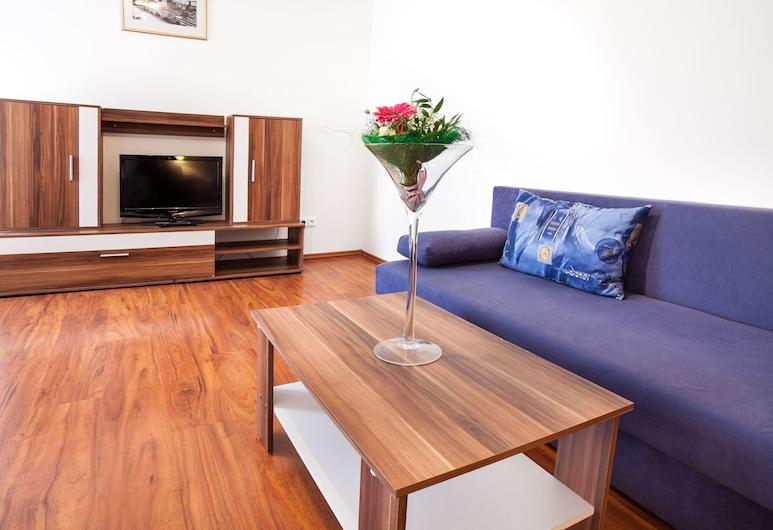 Apartment House Zizkov, Praga, Apartamento, Cozinha, Quarto